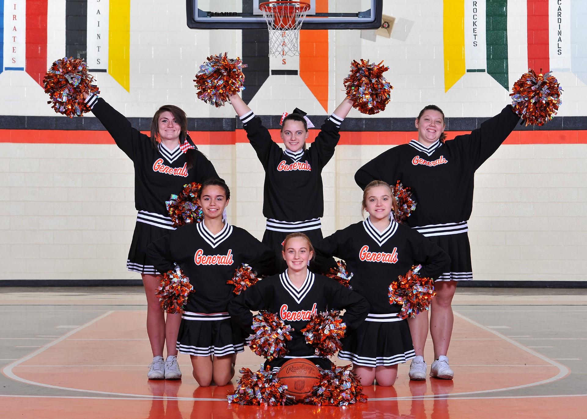 2014-15 8th Grade Cheerleaders
