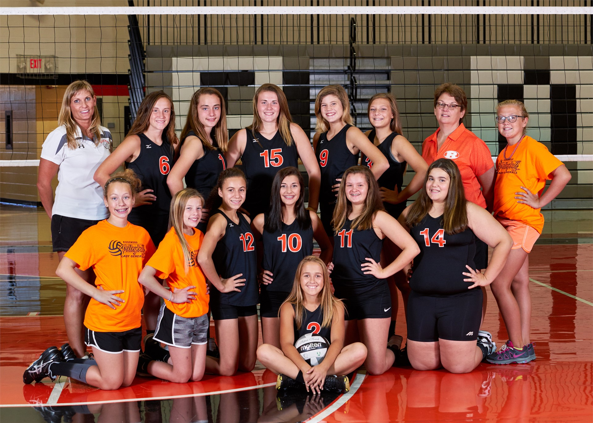 2016-2017 8th Grade Volleyball