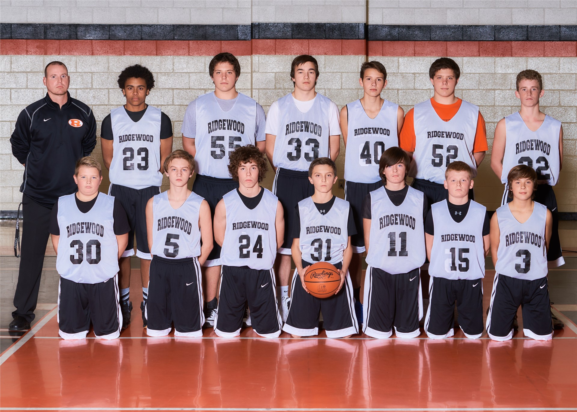2016-2017 8th Grade Basketball