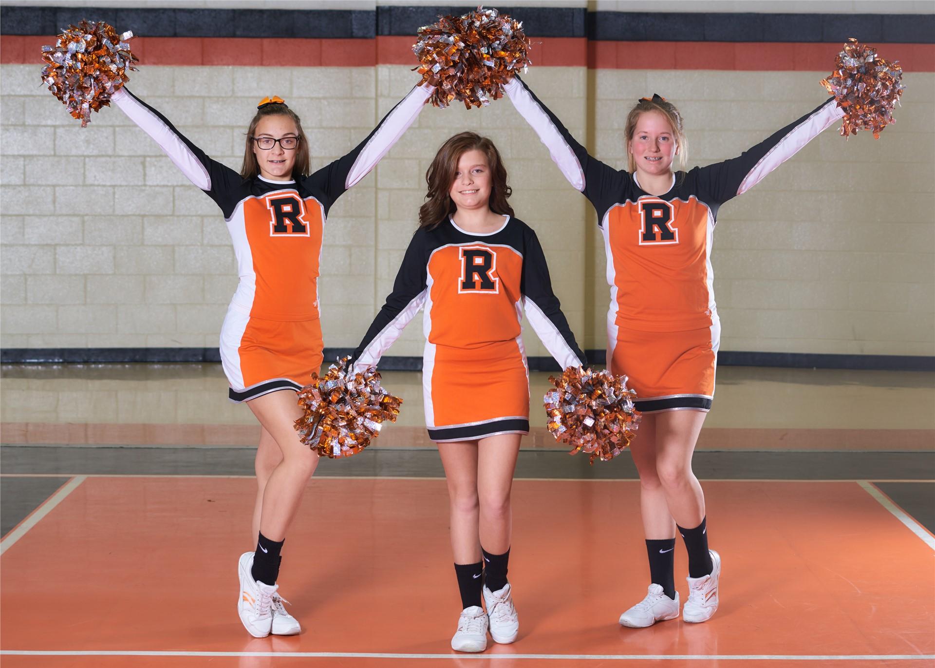 2016-2017 Jr. High Cheerleaders