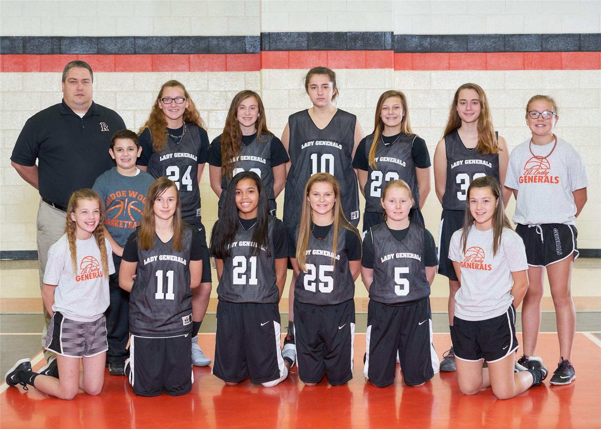 2016-17 8th Grade Girls Basketball
