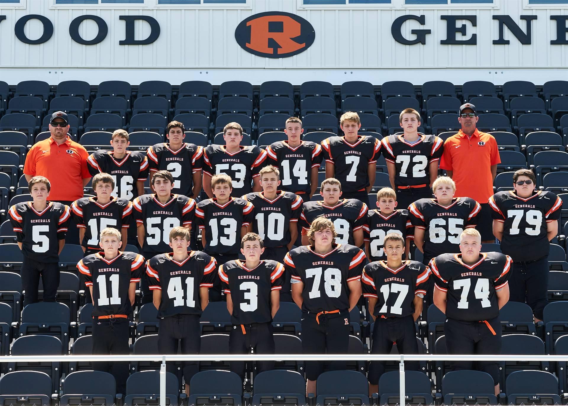 2017-18 8th Grade Team