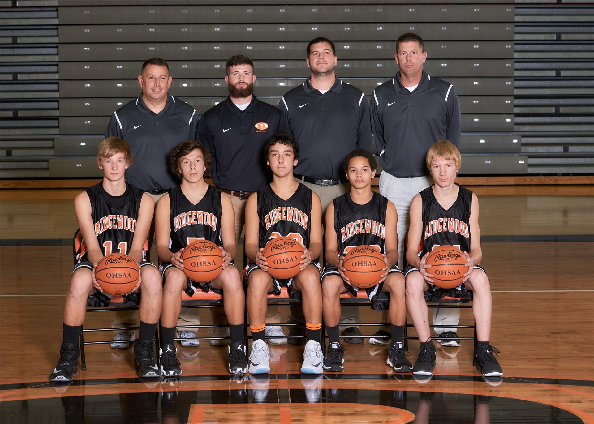 2016-17 JV Basketball Team