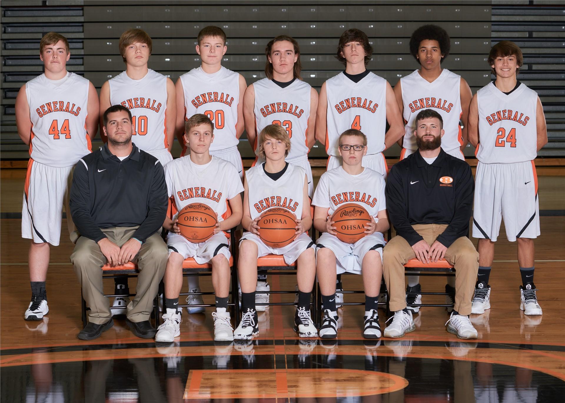 2016-17 Freshmen Boys Basketball