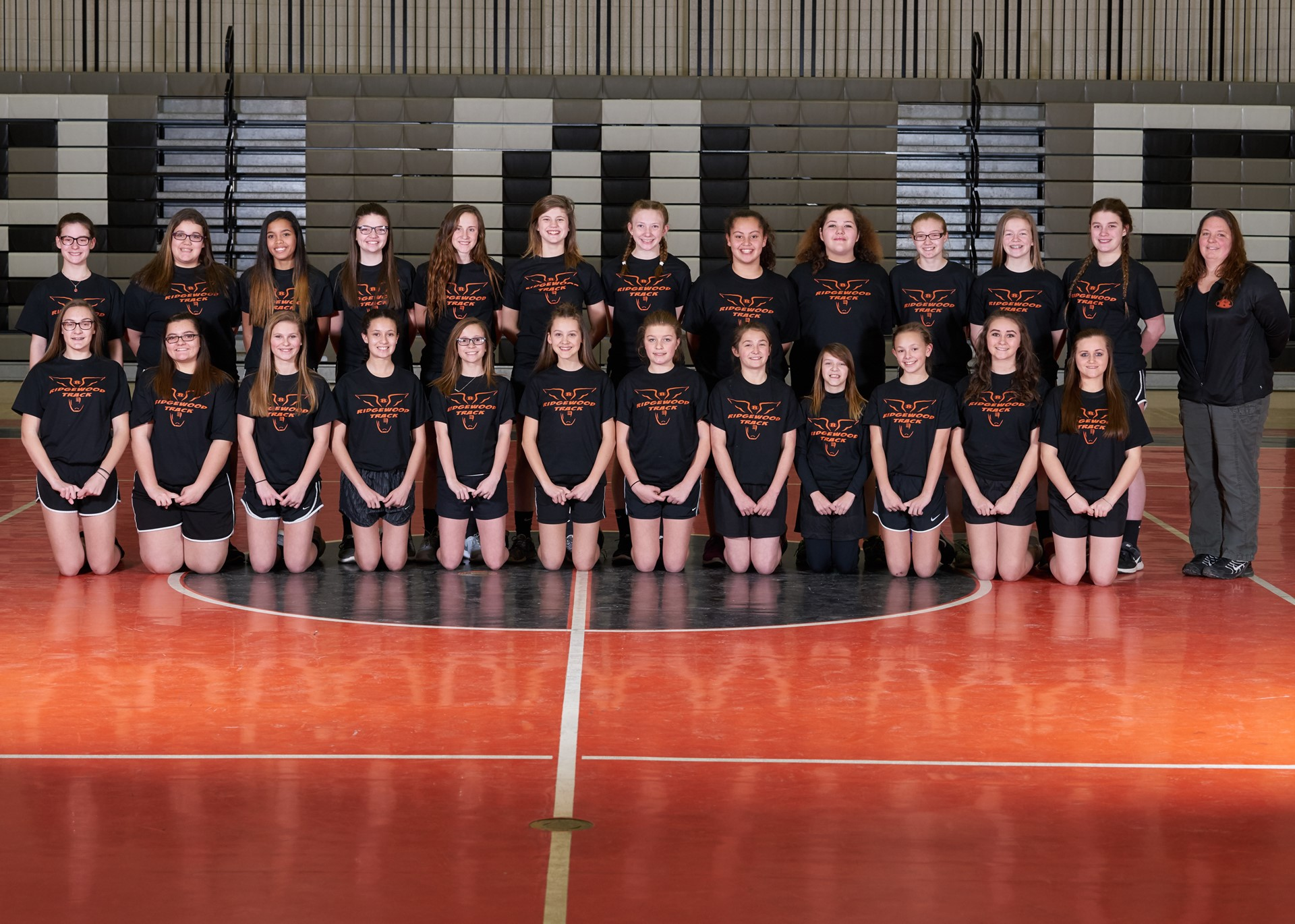 2016-2017 Middle School Girls Track