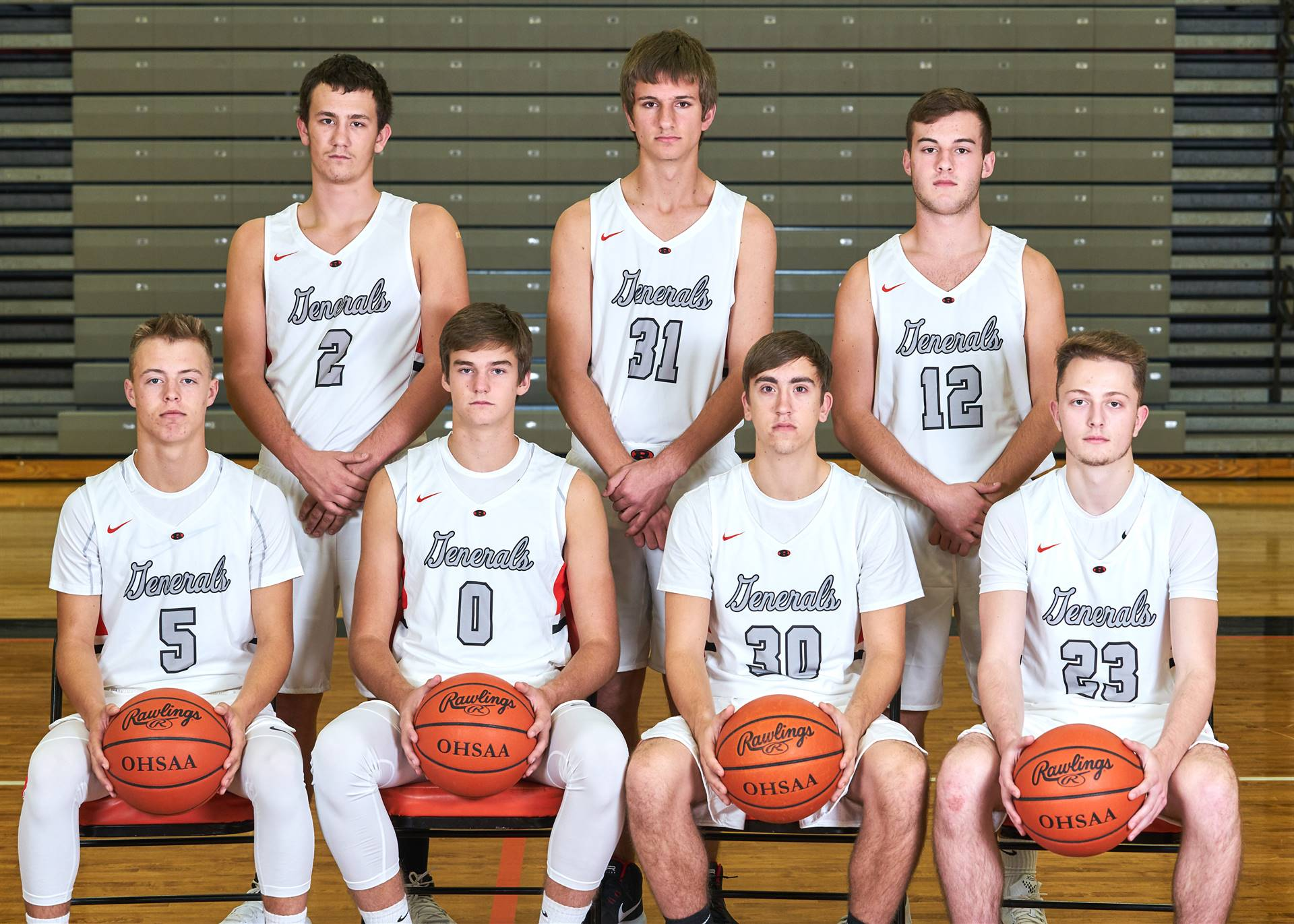 Boys Basketball - Seniors 7