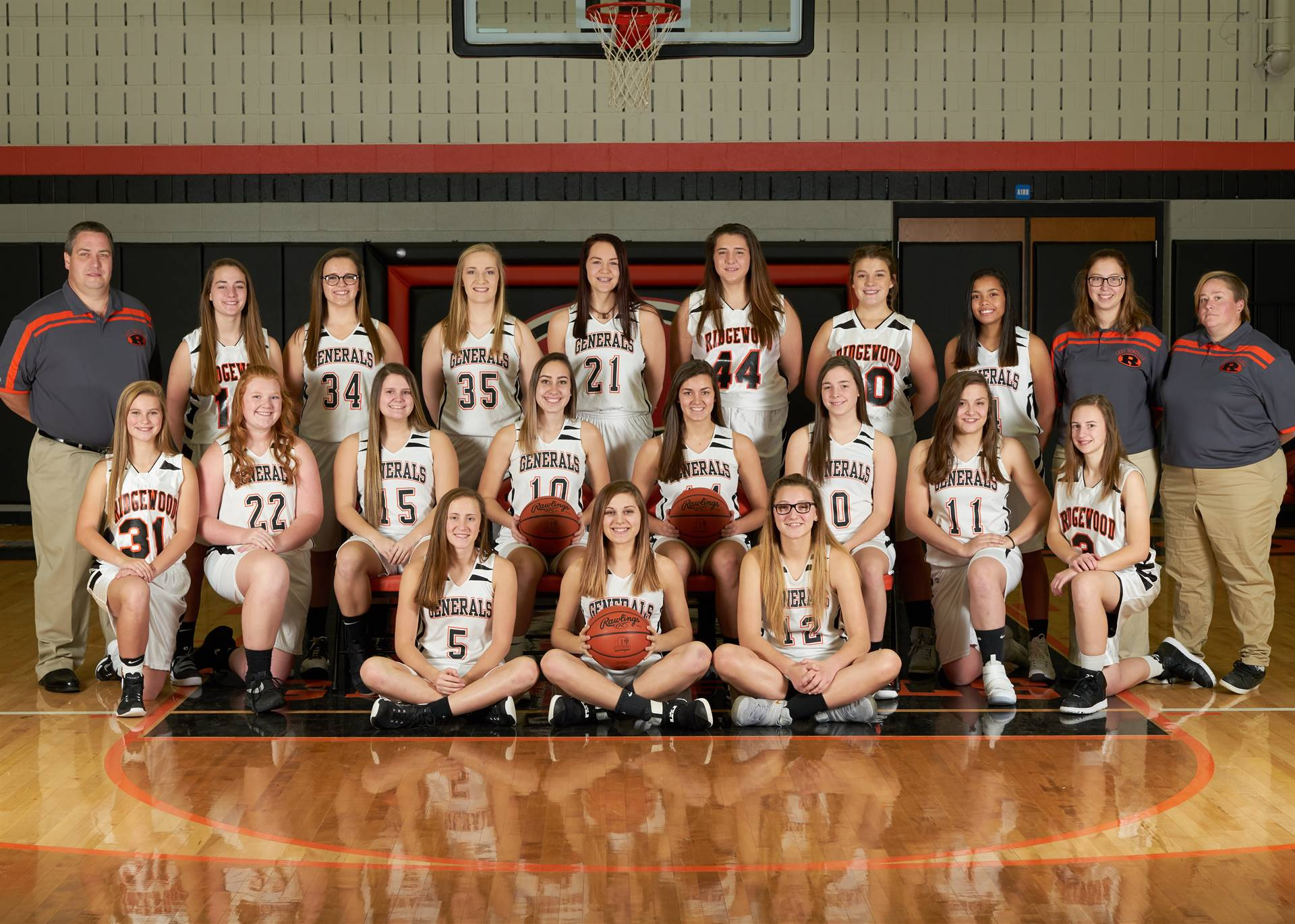 Girls Basketball - Varsity