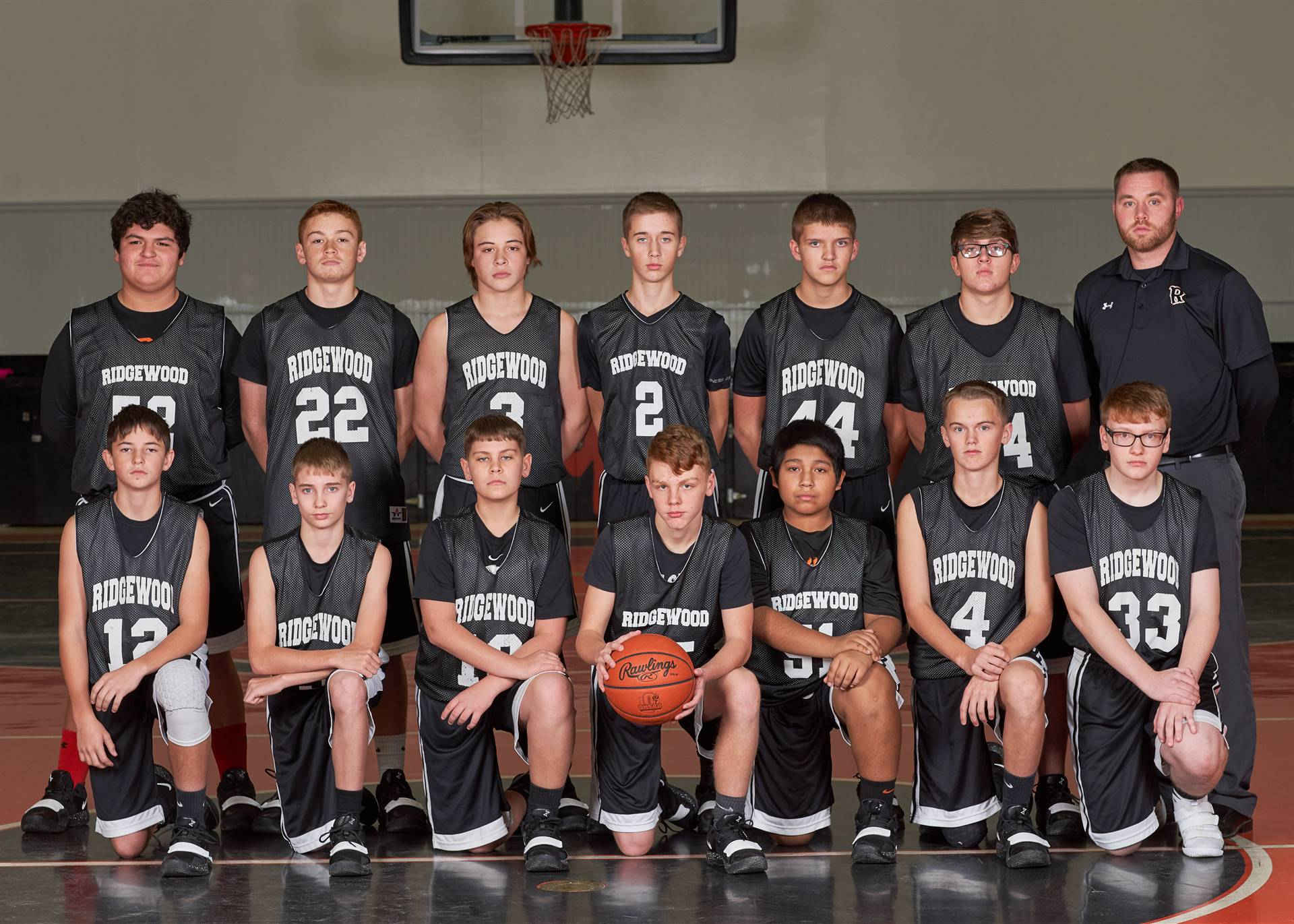 8th Boys Basketball Team