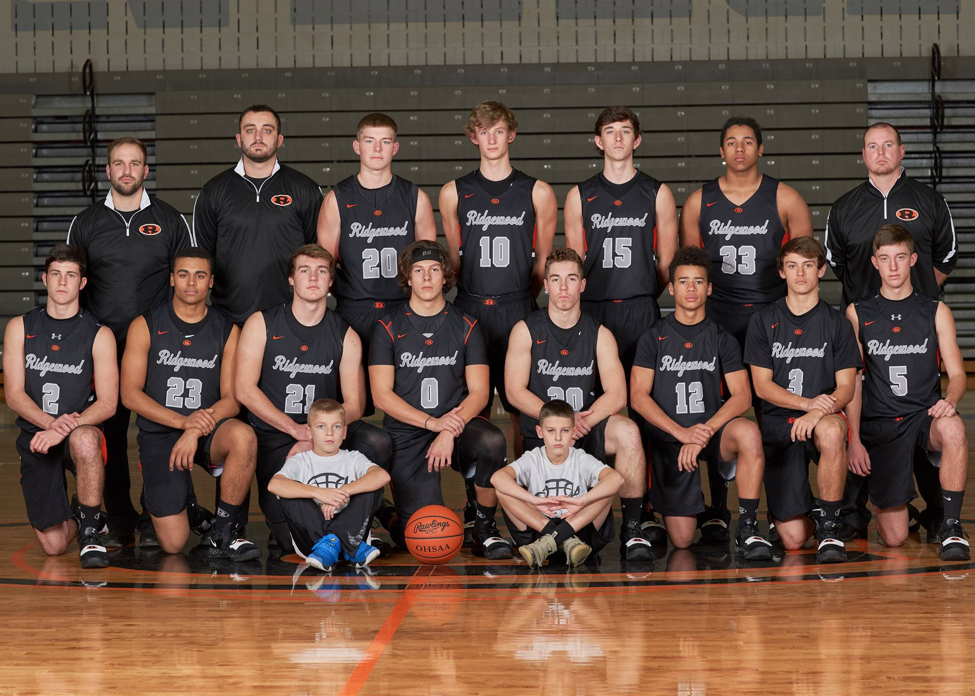 HS Boys Varsity Basketball Team