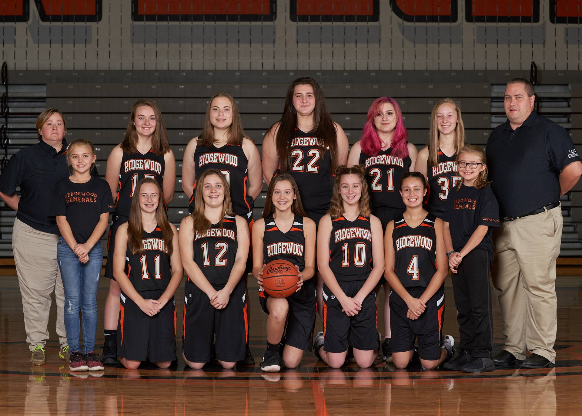 HS Girls Basketball - JV Team