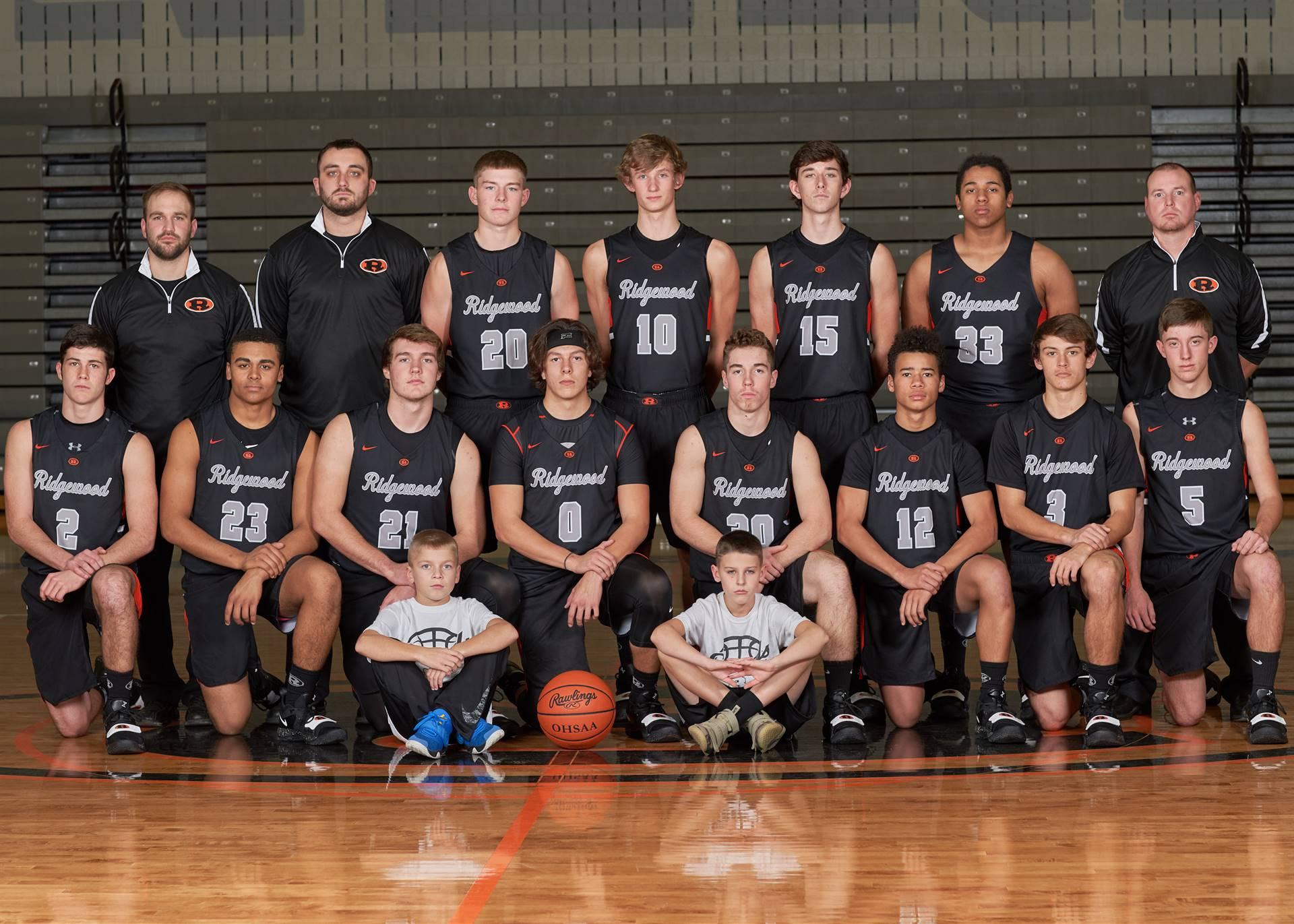 HS Boys Basketball - Varsity Team