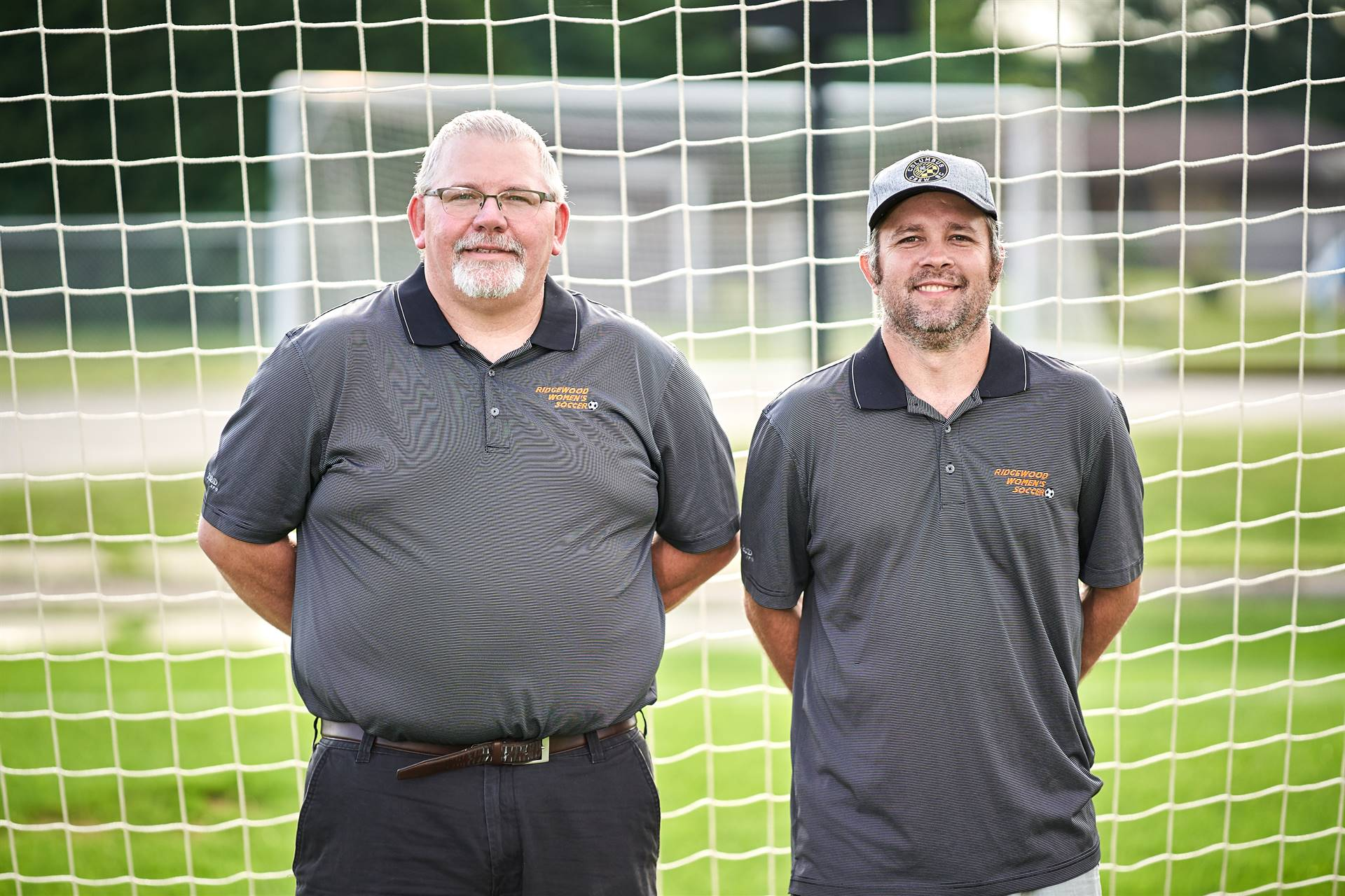 Soccer - Coaches Jeff Eveland and Tim Tubbs