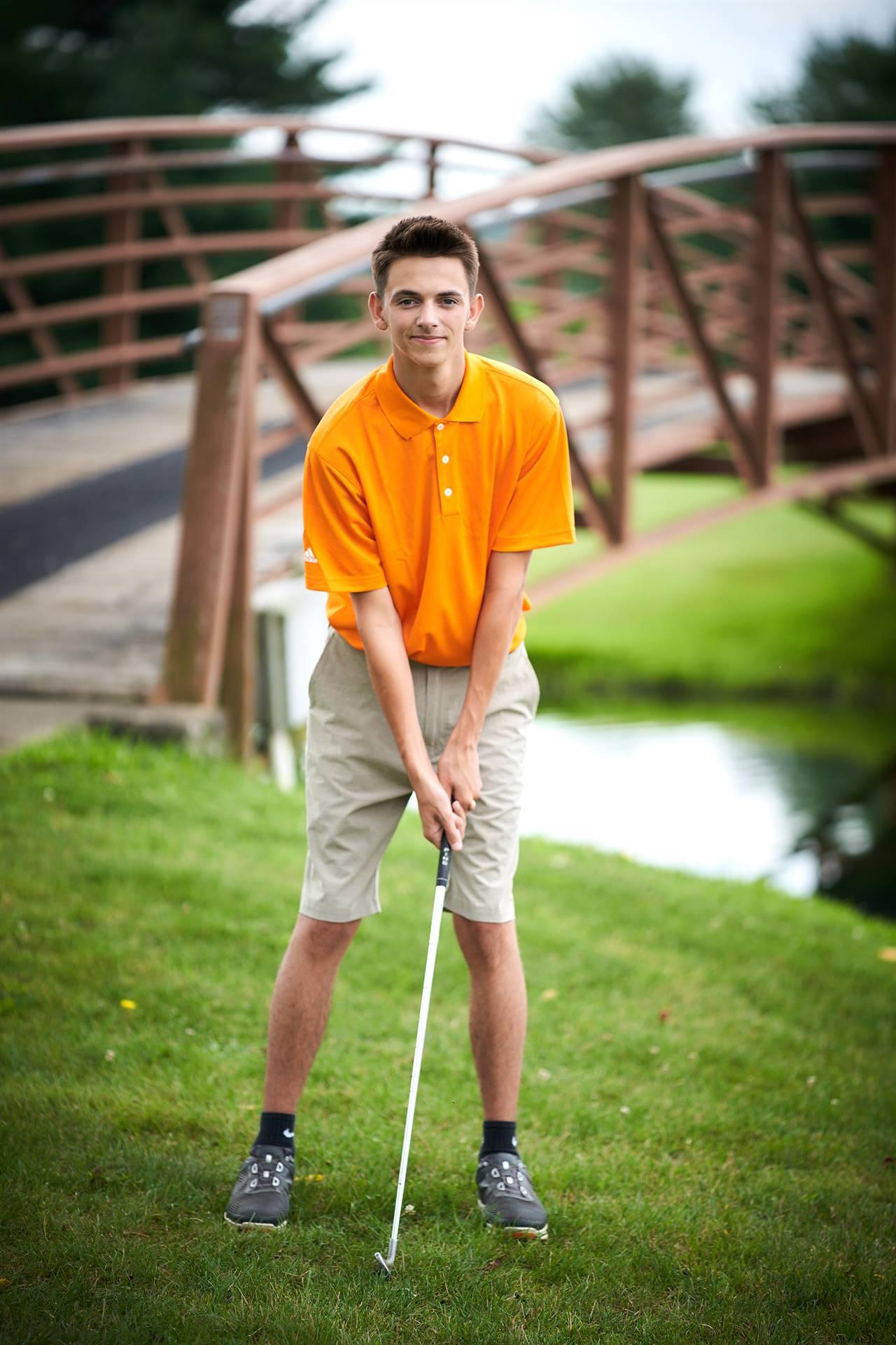 HS Boys Golf - Senior Gauge Shaw