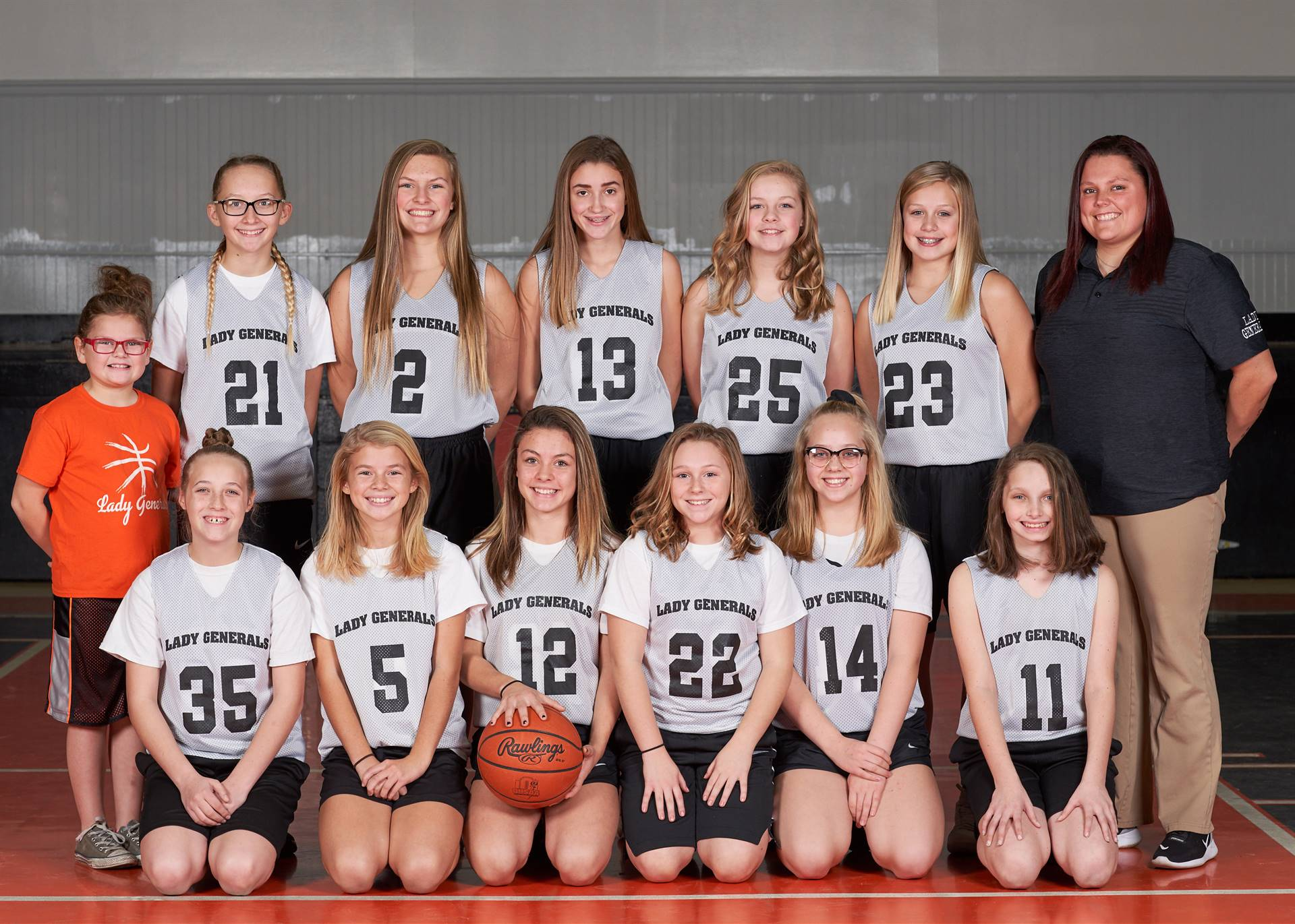 7th Girls Basketball Team