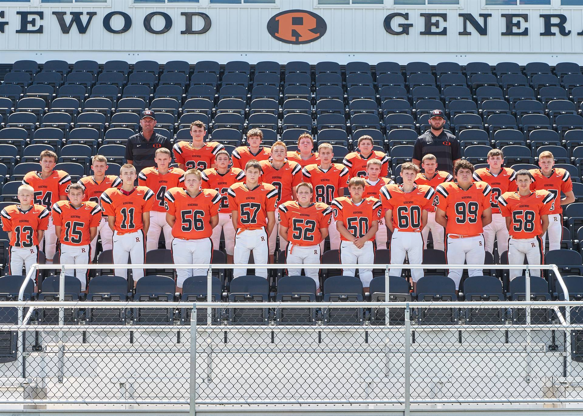JH FB - 8th Grade Team