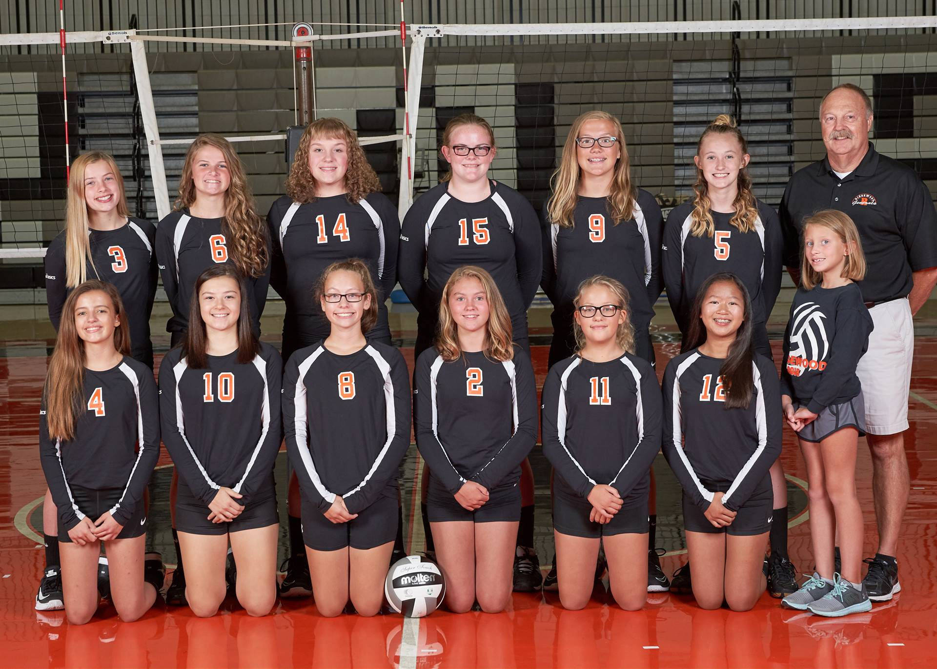 JH VB - 8th Grade Team
