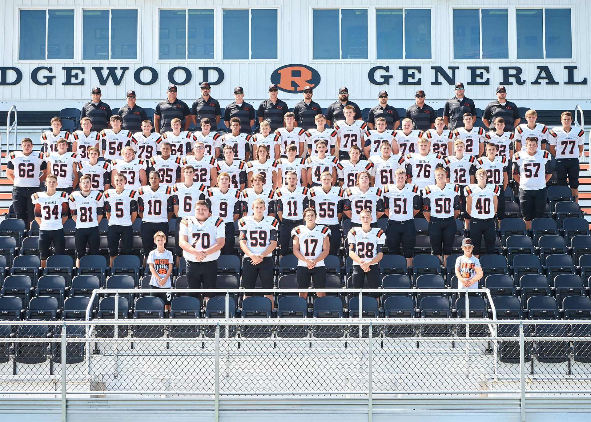 HS FB - Varsity Team