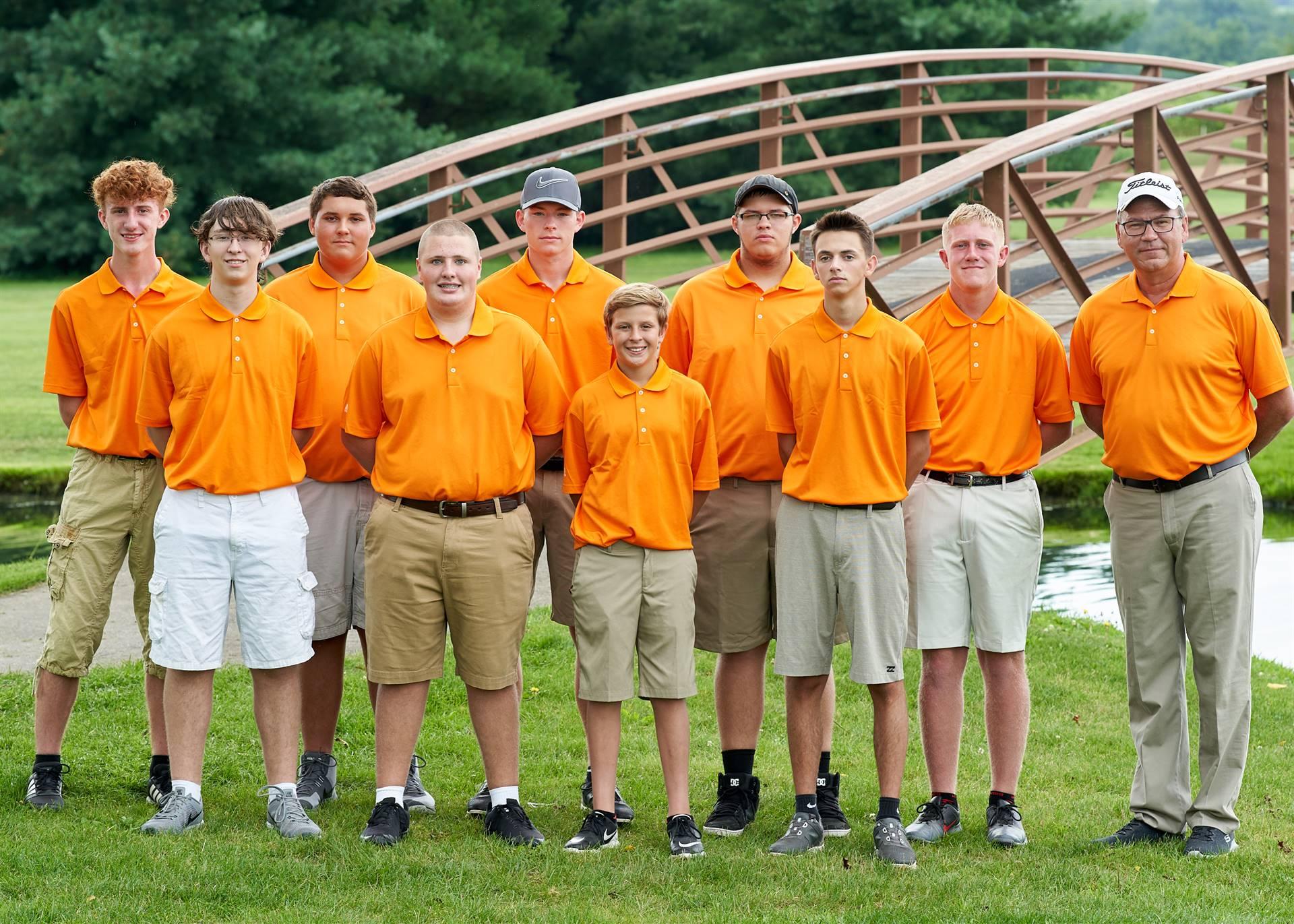 HS Boys Golf - Team