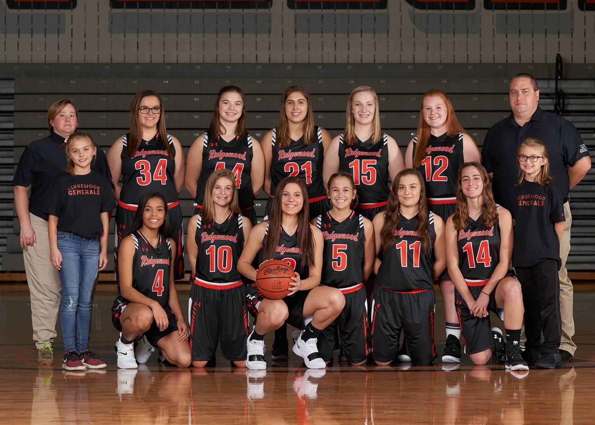 HS Girls Basketball - Varsity Team