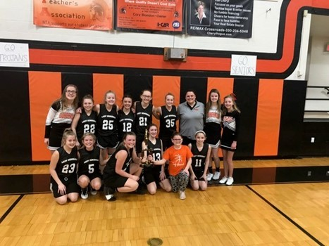 7th grade girls bball ivc champs