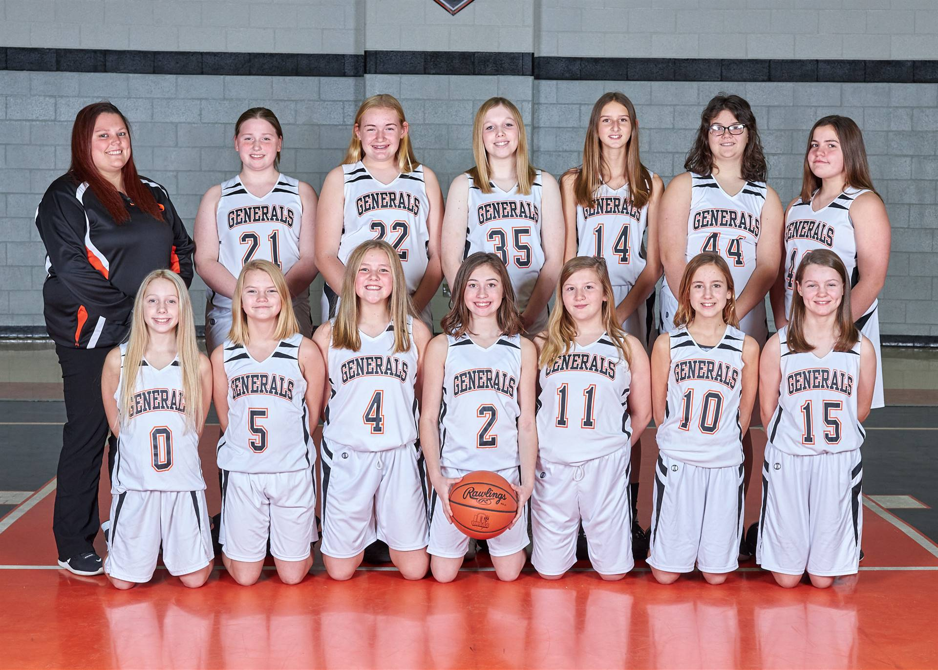 7th grade girls bb team