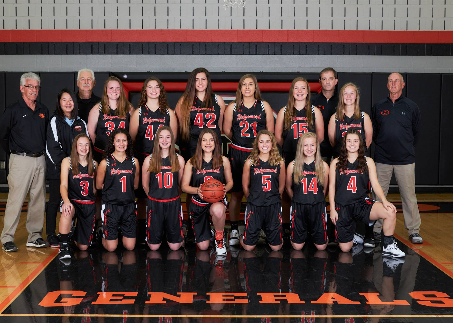 girls bb team