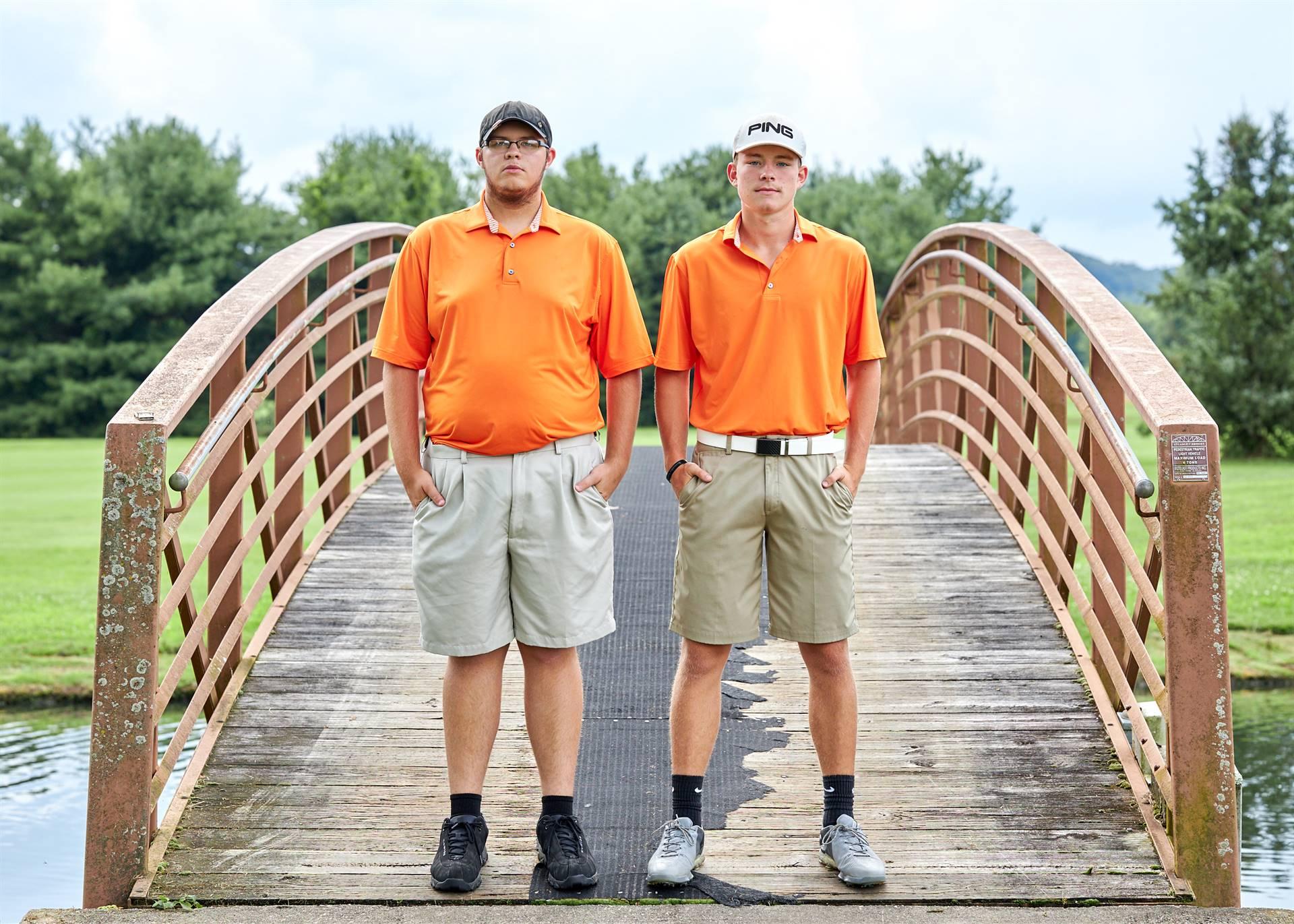 hs boys golf senior