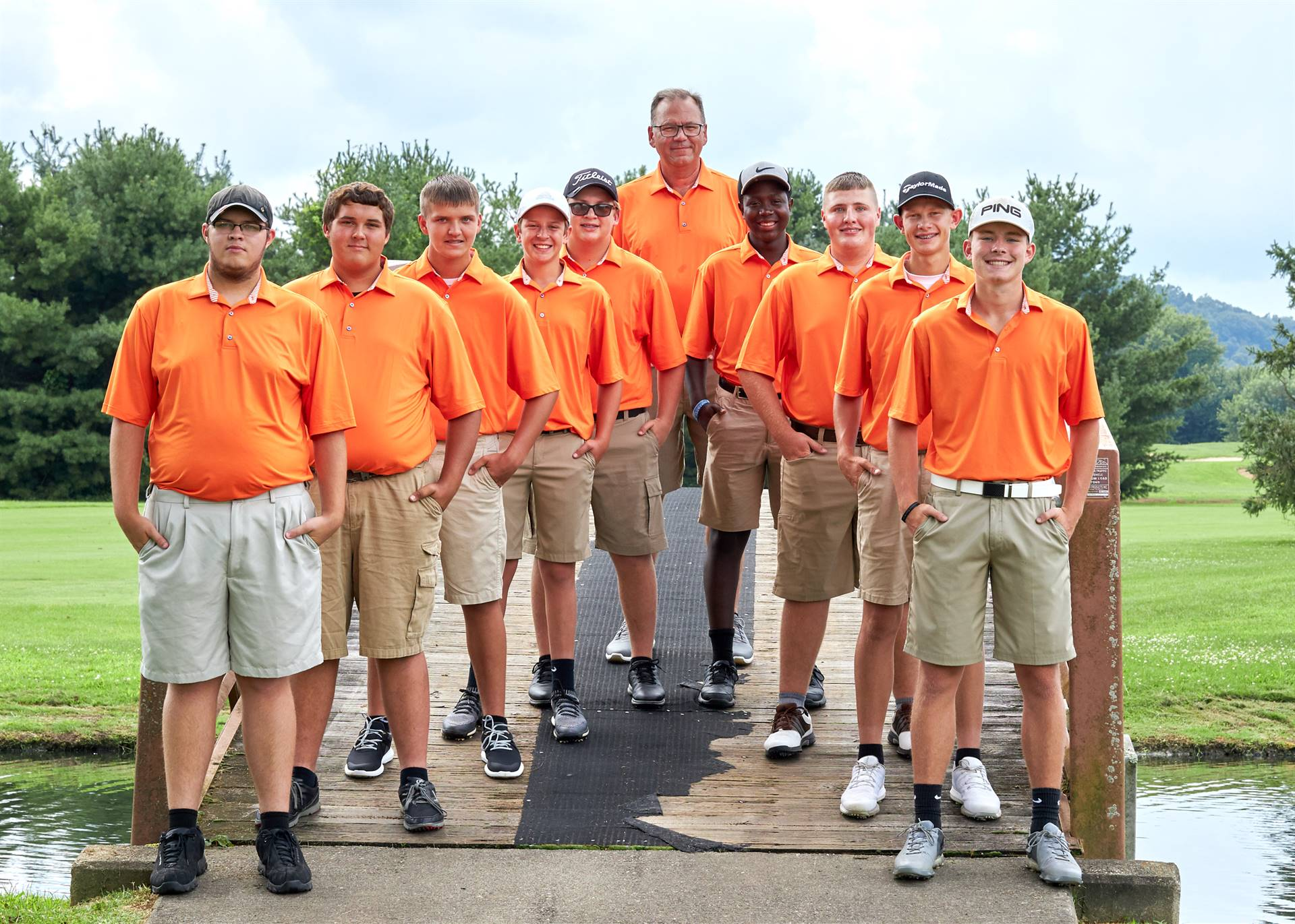 hs boys golf team