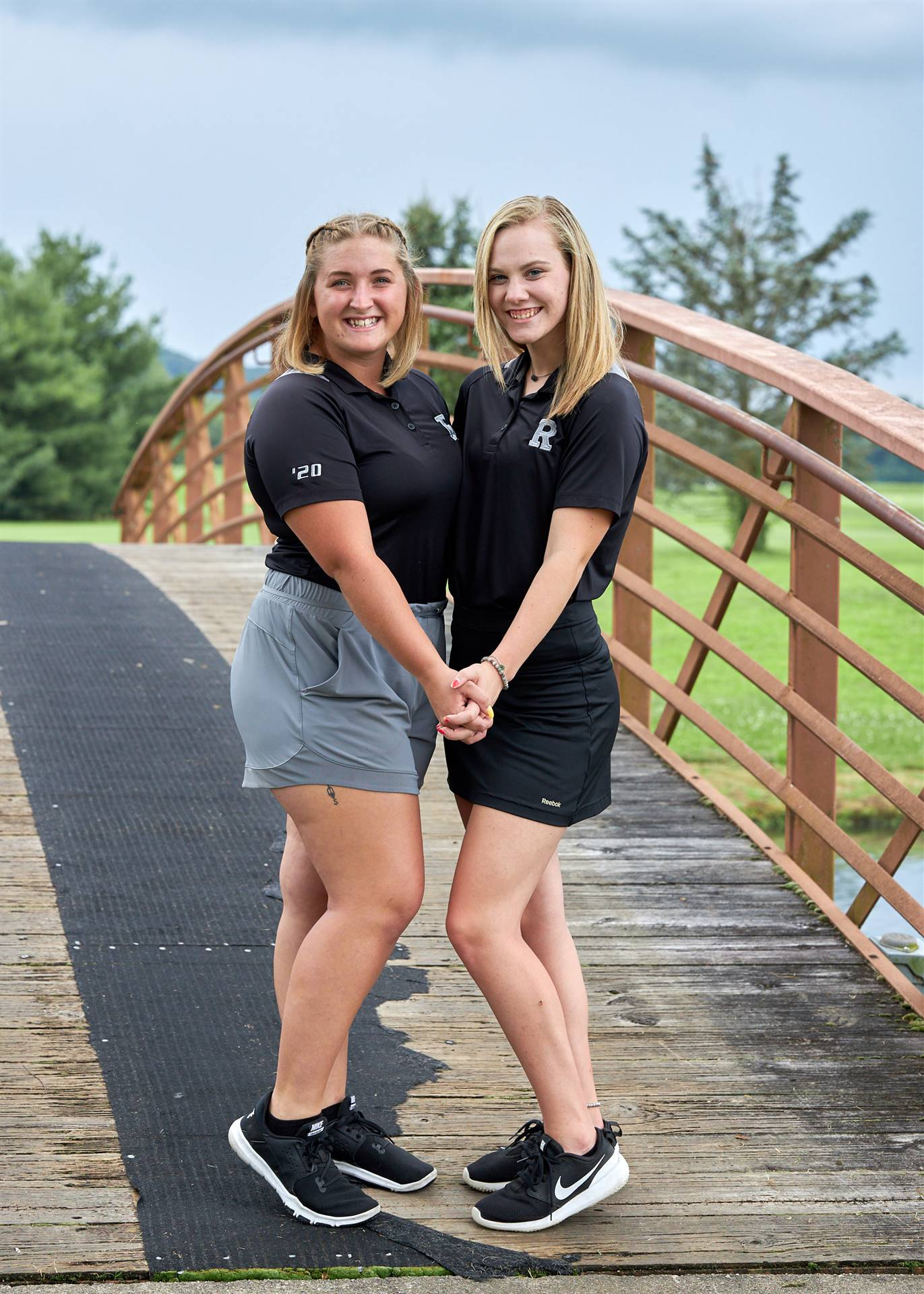 fall girls golf seniors