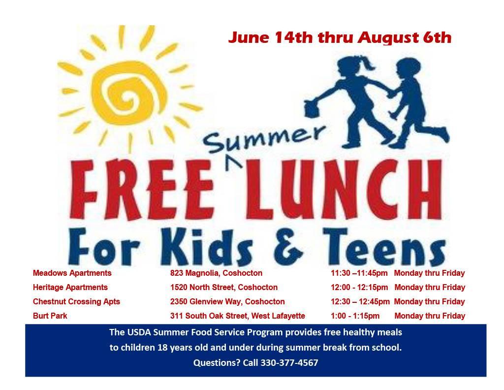 rlsd free summer lunch